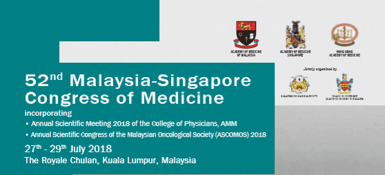 52nd Malaysia-Singapore Congress of Medicine